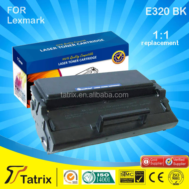 Printer toner cartridge E320 for Lexmark E321 TOP 3 supplier