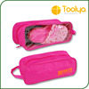 Hot Sale Portable Waterproof Hook Travel Pouch Shoe Wash Bag Zipper Toiletry Makeup Storage Pouch
