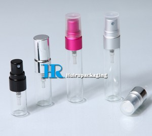 2ml 3ml 4ml 5ml 6ml Perfume Trial Bottle Small Perfume Bottle With Sprayer