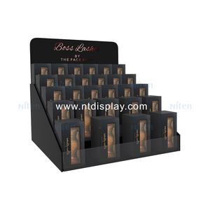 acrylic contact lenses cosmetics eyeshadow palette display stand