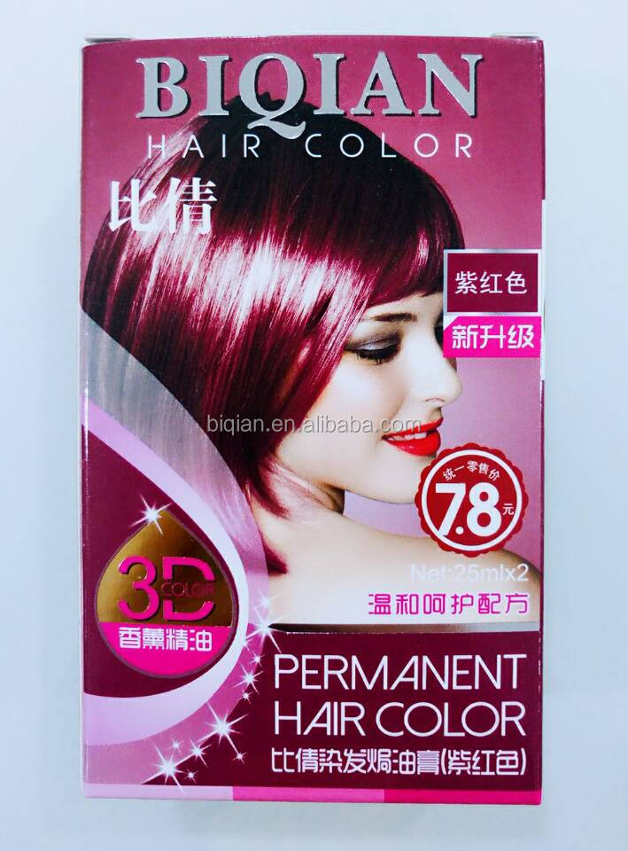 New Brand Henna Oraganic Hair Color Non Ammonia Sample Free Hair Color Cream