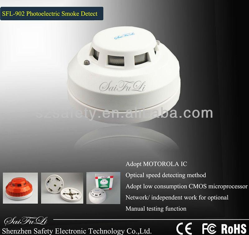 Dc12v rookmelder industri le ontwerp foto elektronische rookmelder sfl 902 alarm product id - Rookdetector ontwerp ...