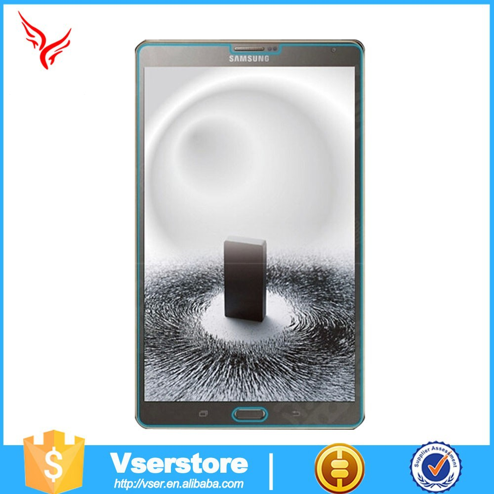 OEM Customized wholesale flexible touch 9h 2.5D glass for samsung galaxy tab pro 8.4 inch T320 tempered glass screen protector