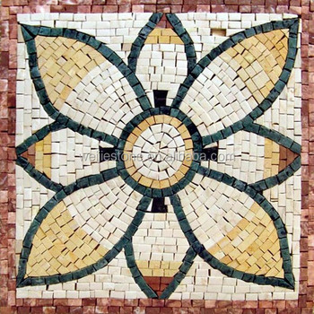 Mosaik Batu Dengan Motif Bunga Untuk Lantai Taman Desain Buy Mosaik Batu Dengan Motif Bunga Jatuh Selesai Mosaik Medali Modern Mosaik Medali Desain Product On Alibaba Com