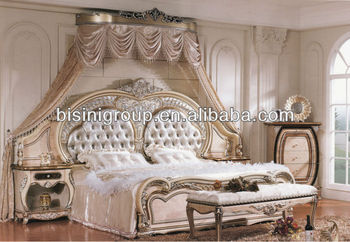 cef9e43a6ecab Luxury Middle East Style King Size Bed Double Bed - Bf11-0110b ...