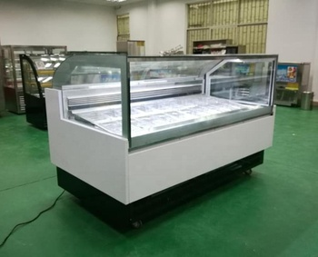 2018 Hot selling commercial freezer cabinet for Ice cream / Popsicle display