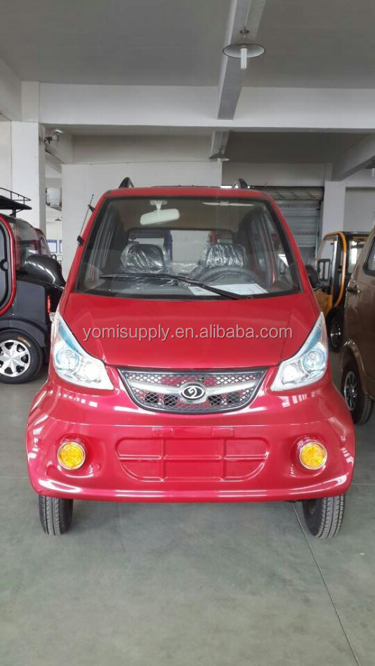 4 wheel adult smart 4 seat electric car