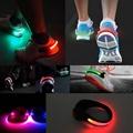 2 Pcs Bright Luminous LED Shoe Bike Flash Clip Safety Warning Lamp fits Night Walking Running