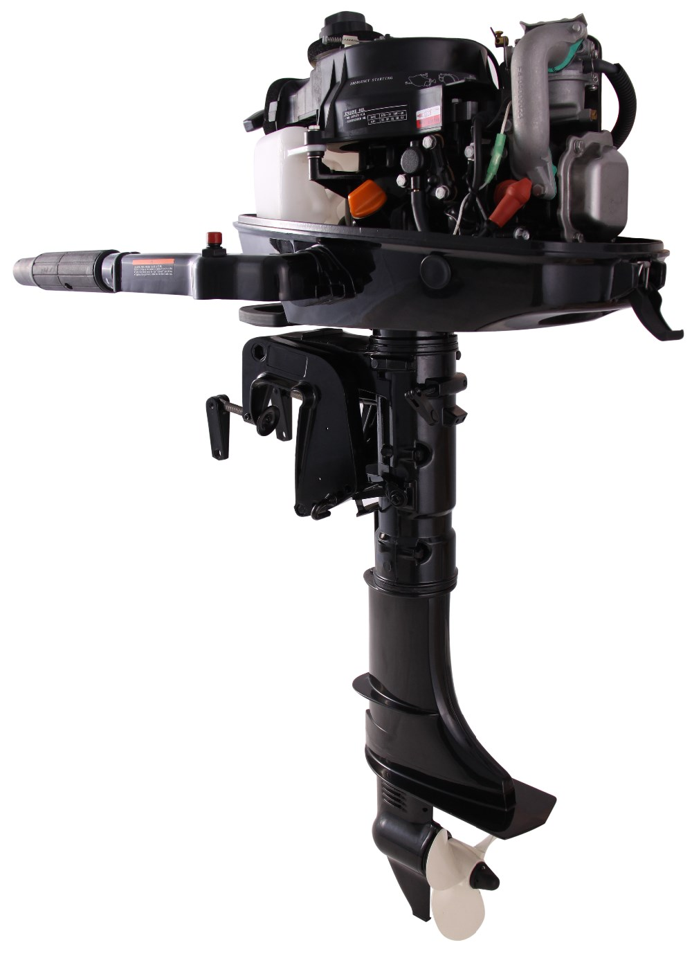 Outboard engine 4hp 4 stroke short shaft outboards mud for 4 stroke outboard motors
