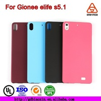 Felt cell phone case & Mobile phone cover & Mobile phone accessory frosted case for Gionee elife s5.1