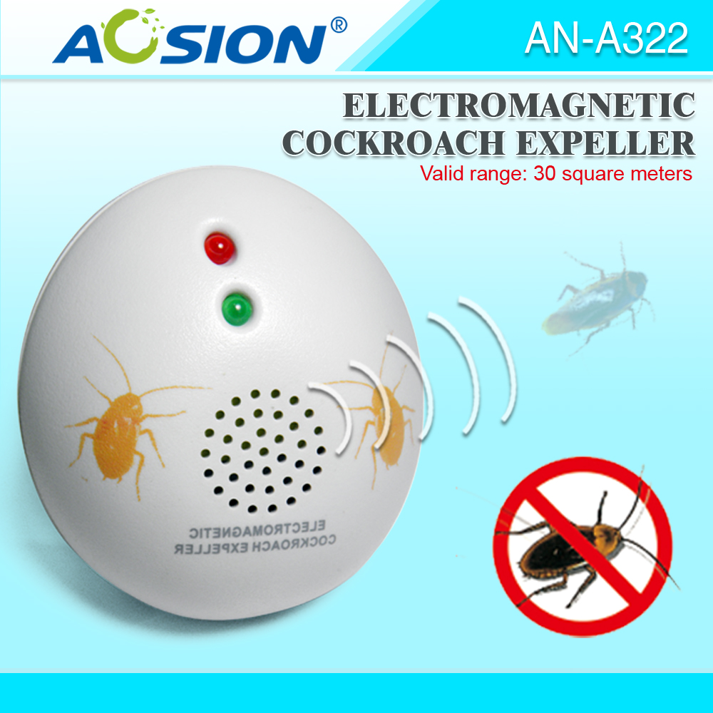 Aosion hot selling Smart sensor ultrasonic cocoroach pest types indoor repeller