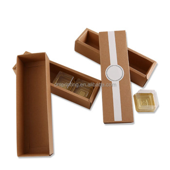 Custom Logo Small Product Paper Sleeve Candy Packaging Paper Box