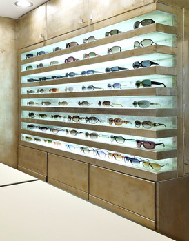 Beau Modern Sunglasses Display Cabinet And Eyewear Showcase For Optical Store  Design