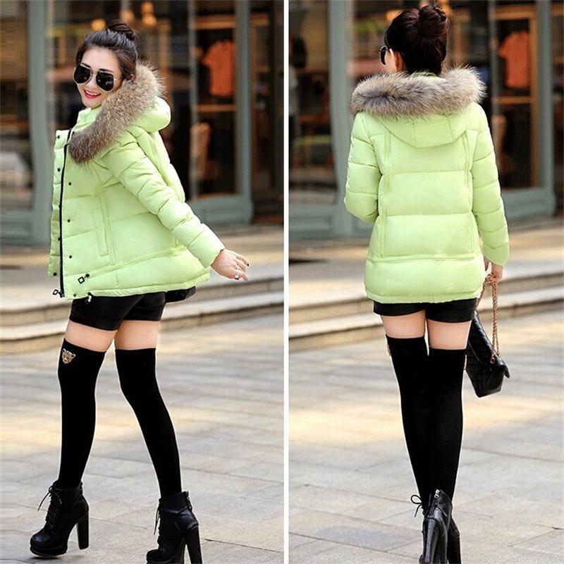 Зима куртка утка пуховик, белый пальто женщины хлопок пуховик роскошь большие мех воротник толстый пальто женщины одежда размер х S - 3XL