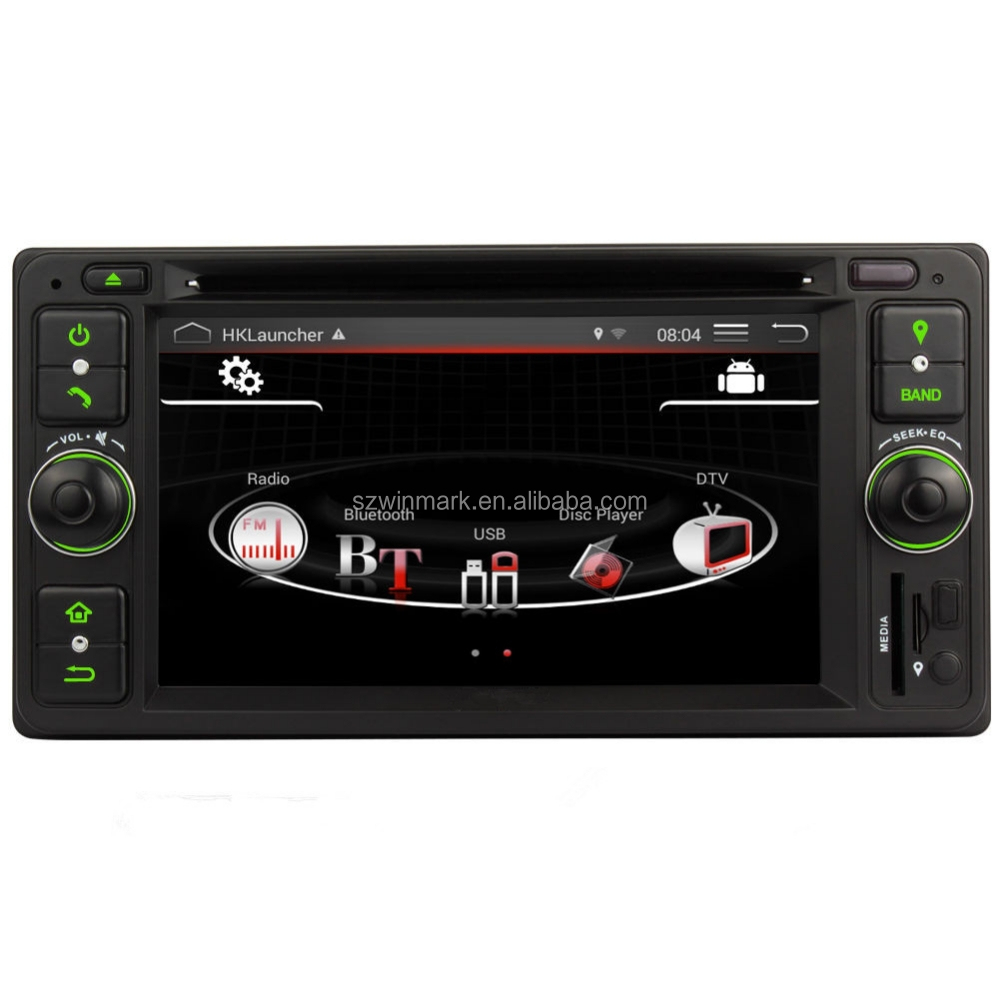6.2Inch 2Din Android 4.4 <strong>Toyota</strong> Car DVD GPS For Camry <strong>Corolla</strong> Hilux Prado Hiace RAV4 DQ6514