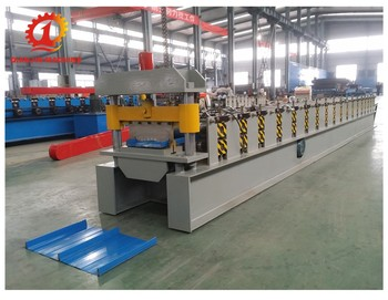 strip lock inter locking self lock roofing sheet roll forming machine