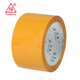 hot sale high recommend good quality strong adhesive stable golden china supplier opp bopp carton sealing Yellow packing tape