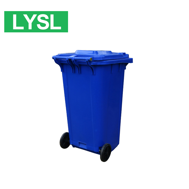 China Manufacturer plastic garbage bin, outdoor using ashtray bin