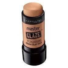 Maybelline Master Glaze by Face Studio Glisten Blush Stick, 40 Warm Nude