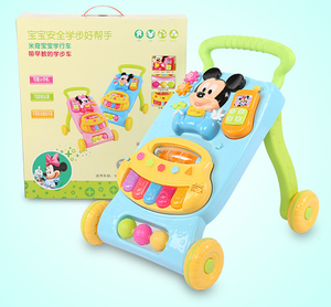 Newspeed New Model Baby Walker With Brakes And Music