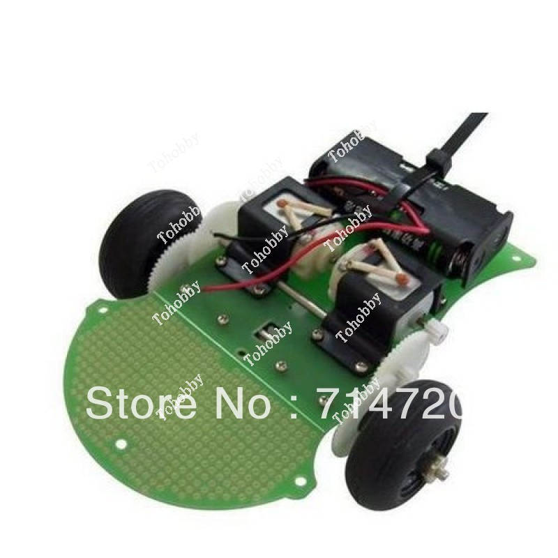 Free shipping Educational Robots Chassis Kit ASURO Robot Chassis Kit