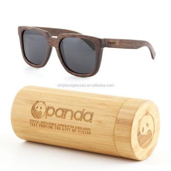 7af966b5fc 100% hecho a mano de estilo de logotipo lente polarizado de bambú gafas de  sol