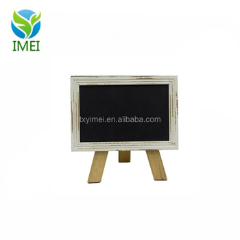 Mini Free Standing Wood Frame Chalkboard For Counter - Buy Mini Free ...