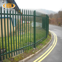 Best price high security powder palisade fence and gates