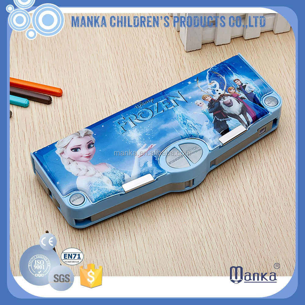 2016 multifunction magnetic pencil box to school