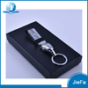 High quality metal car keychain custom packaging box key holder