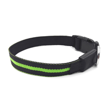 Best Selling Products TZ-PET6100U Nylon and Waterproof LED Dog Collar USB Rechargeable