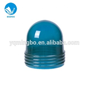 Marine glass round signal light lampshade led lamp pc cover