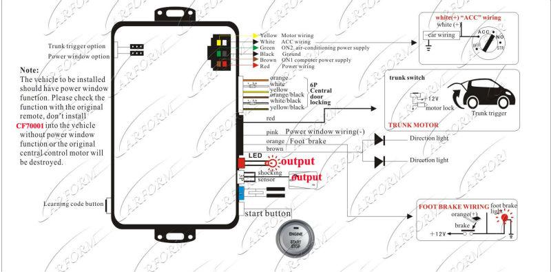 hot   pasif sistem alarm mobil rfid alarm mobil   menekan