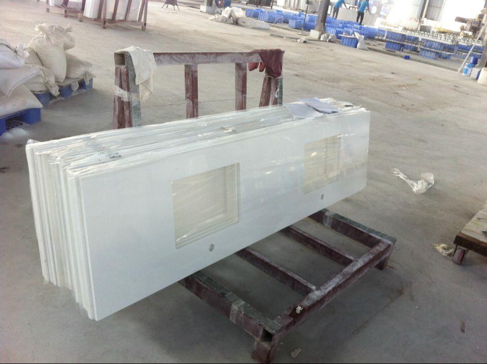 Arctic White Quartz Countertops Stone Veneer Panels Lowes Buy Arctic White Quartz Countertops