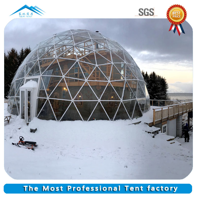 Factory Direct Supply Customized outdoor luxury camping dome tent for sale