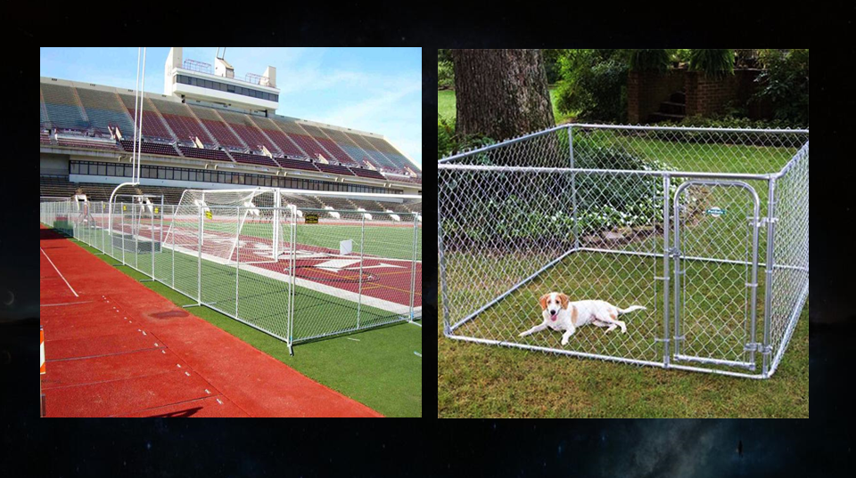 Very Cheap Temporary Construction Fence With Chain Link Mesh In filled For Sale