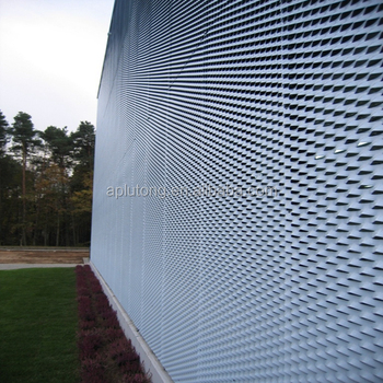 Expanded Metal For Architectural Facade Cladding