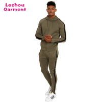 Custom mens fitted tracksuit latest design men suits