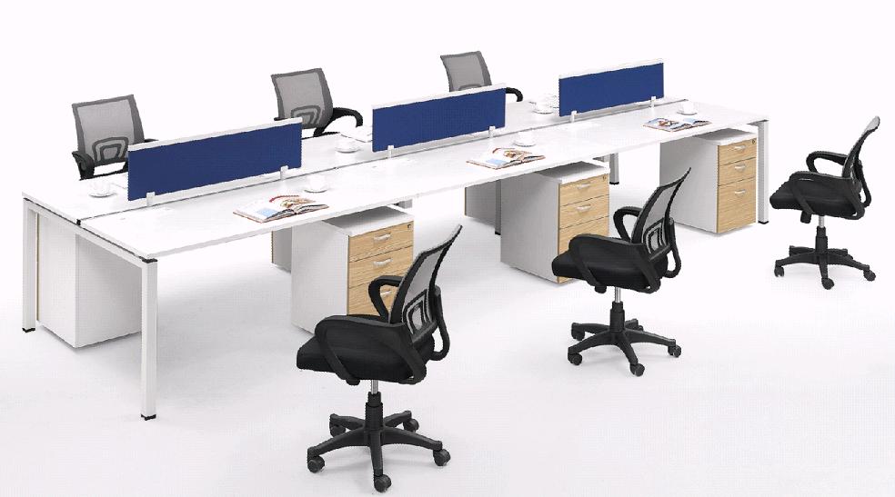 Moderno mobiliario de oficina partici n dise o de for Cubiculos de oficina
