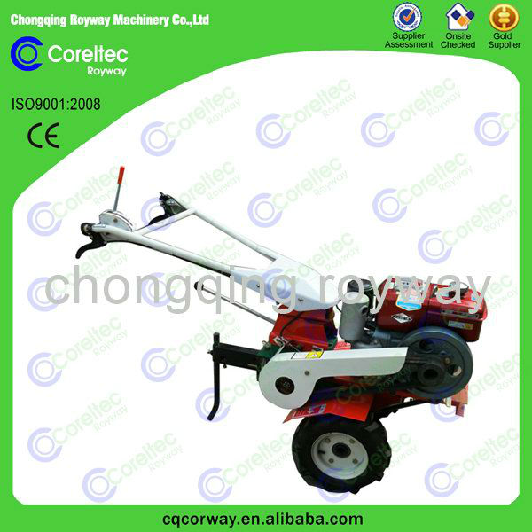 Agricultural diesel engine mini farm hand rotavator for lames