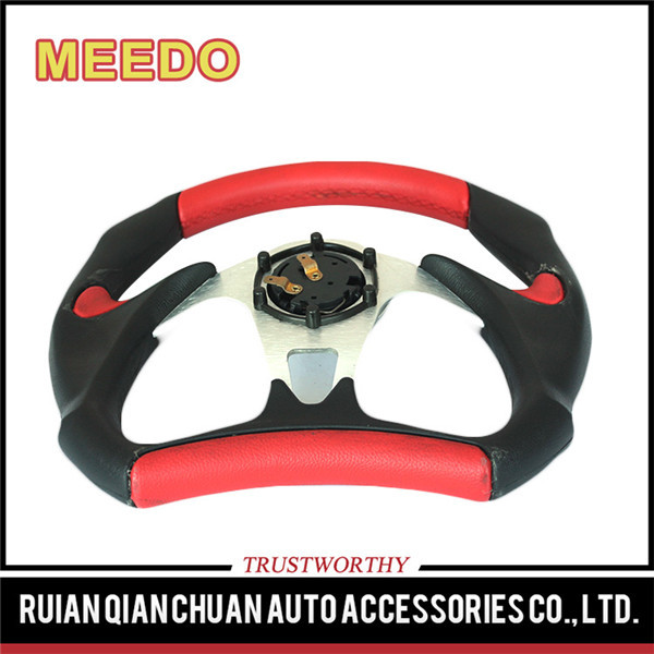Promotional super soft steering wheel with buttons