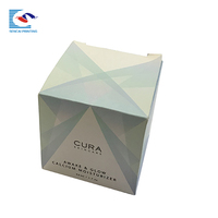 New Design Custom Luxury Foldable Cosmetics Paper Package Box