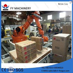 Good price fully-auto robotic palletizer for various of field