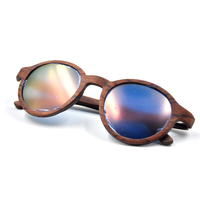 2016 best sell high quality wooden sunglasses brand new wood sunglasses with polarized lens fashion looking