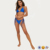 KY wholesale bikini brazilian set COBALT MINIMAL ADJUSTABLE swimwear bikini sexy t-back panties