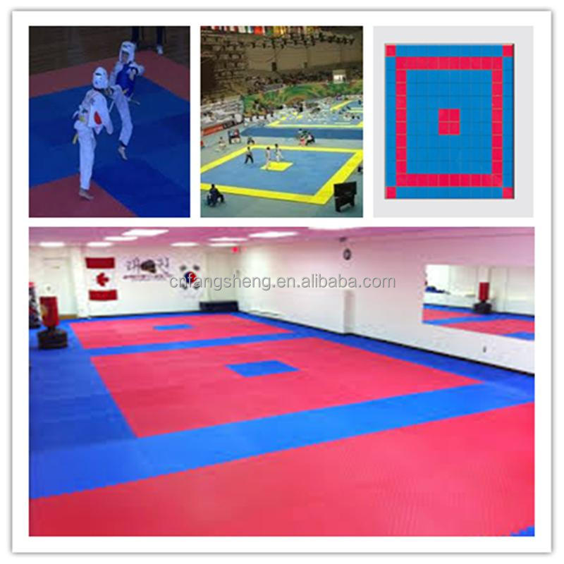 Professional childrens training mat/carpeted gym mats gymnastics training inflatable air track fitness equipment