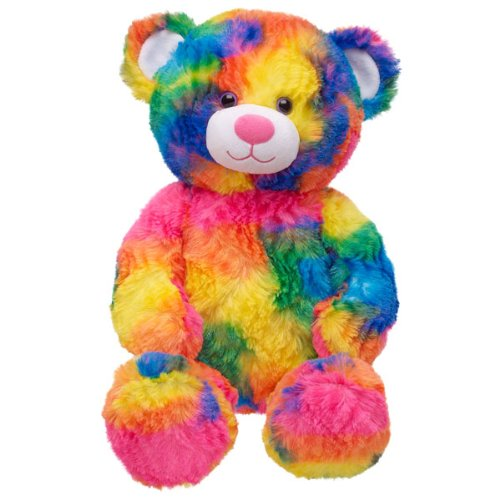 Rainbow Teddy Bear,Beautiful Teddy Bear,Soft Toy Bear - Buy ...