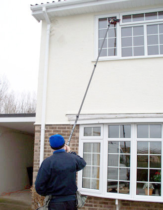 60FT 18M carbon fiber water fed pole for window cleaning tool