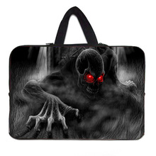Skull Pattern Zipper 10inch 10.1 10.2 10.3 9.7 inch Netbook PC Tablet Sleeve Cover Pouch Protector For sony xperia z2 tablet Tab