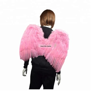 Decorative Pink Cheap Angel Wing For Halloween Party Accessory